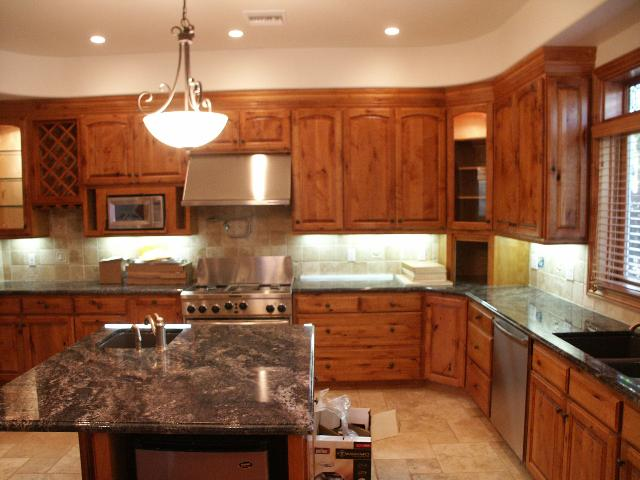 Kitchen and bathrrom makeover remodel custom cabinets tile for Bathroom remodel reno nv