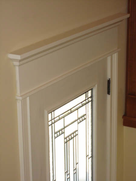 Custom finish carpentry doors moulding trim crown door reno nv for Door moulding