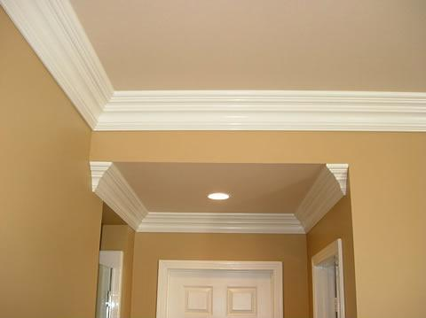Backyard On A Budget Ideas furthermore Prefinished Ceiling Planks Work Equally Well As Wall Paneling likewise Crown molding besides Watch as well Basement Ceiling Ideas. on coffered ceiling ideas