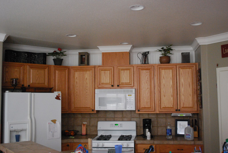Adding crown molding to kitchen cabinets bar cabinet for Adding crown molding to existing kitchen cabinets